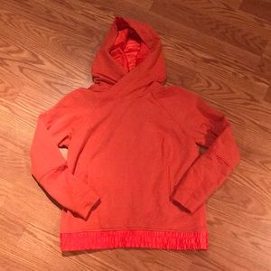 Lululemon Athletica Coral Hoodie with Side Pockets